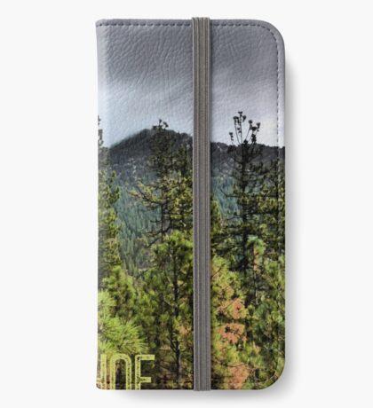 Spooner Summit (Lake Tahoe, Nevada) iPhone Wallet