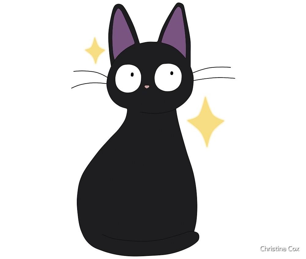 Jiji the cat by Christina Cox
