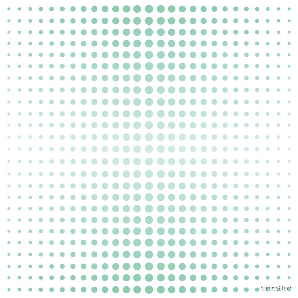 Retreating Dots by GraceBart
