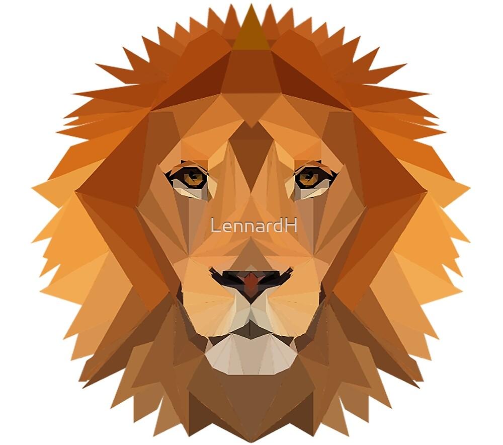 Majestic lion by LennardH