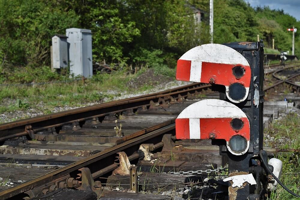 Abandoned Railway Signal by LittleMessyJess