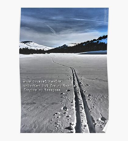 Meiss Country Haiku Poster