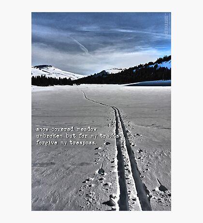 Meiss Country Haiku Photographic Print