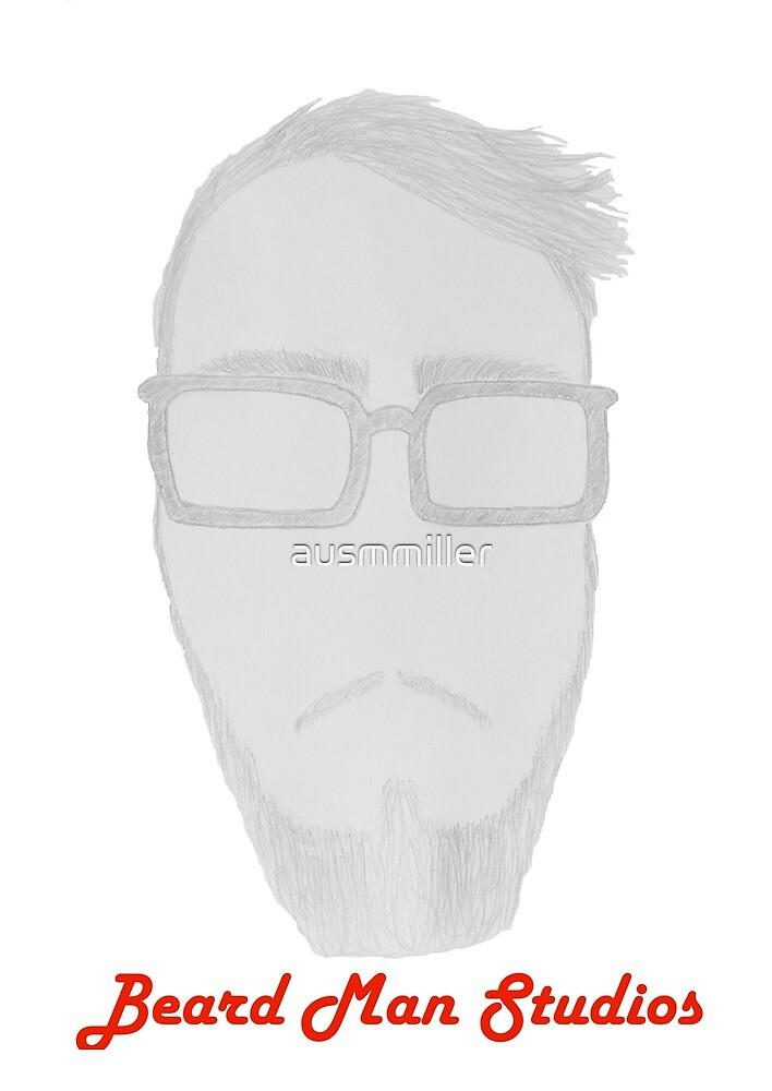 Beard Man Studios Logo by ausmmiller