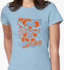 Freak Mascot Stencil Women's Fitted T-Shirt