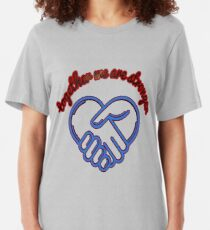 Together we are stronger Slim Fit T-Shirt