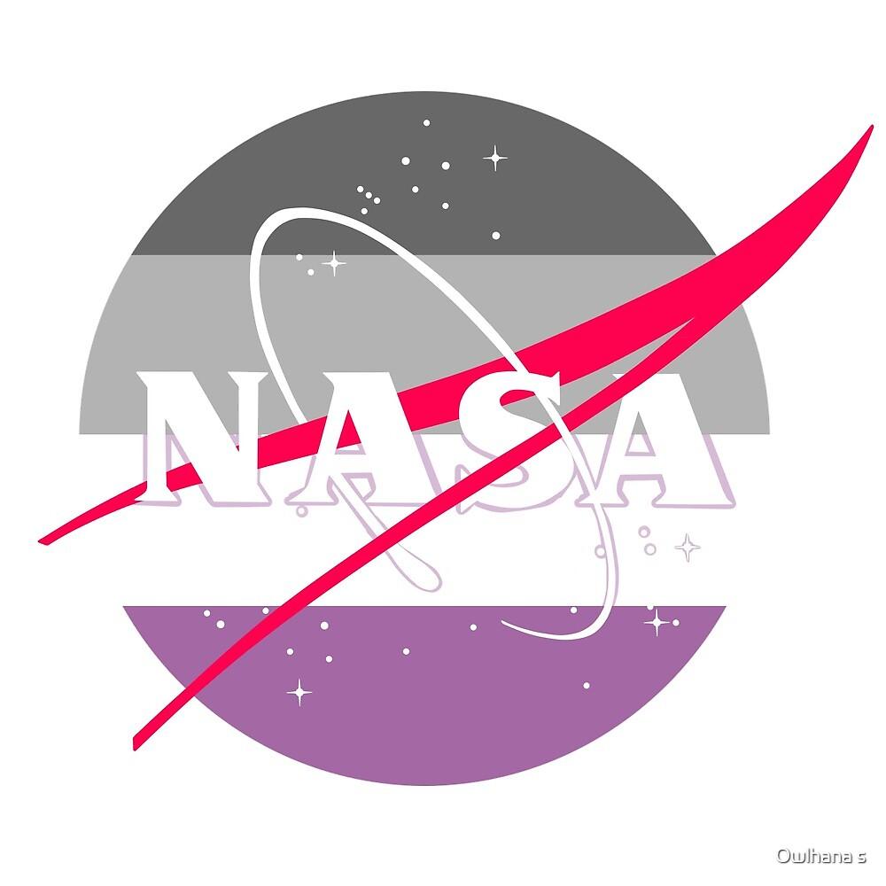 Pastel NASA Logo - Ace by Hijinata