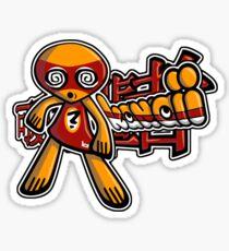 Hypno Mascot Tag Sticker