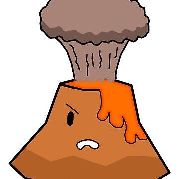 """Whatever"" volcano by Jjwillo"
