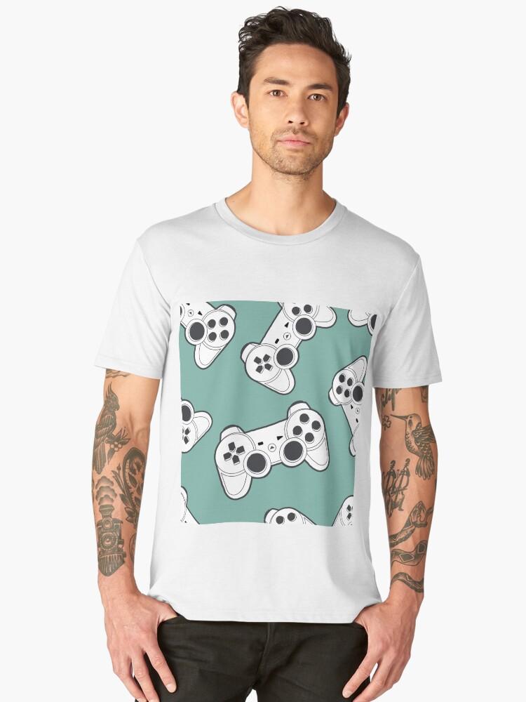 Playstation controller Men's Premium T-Shirt Front