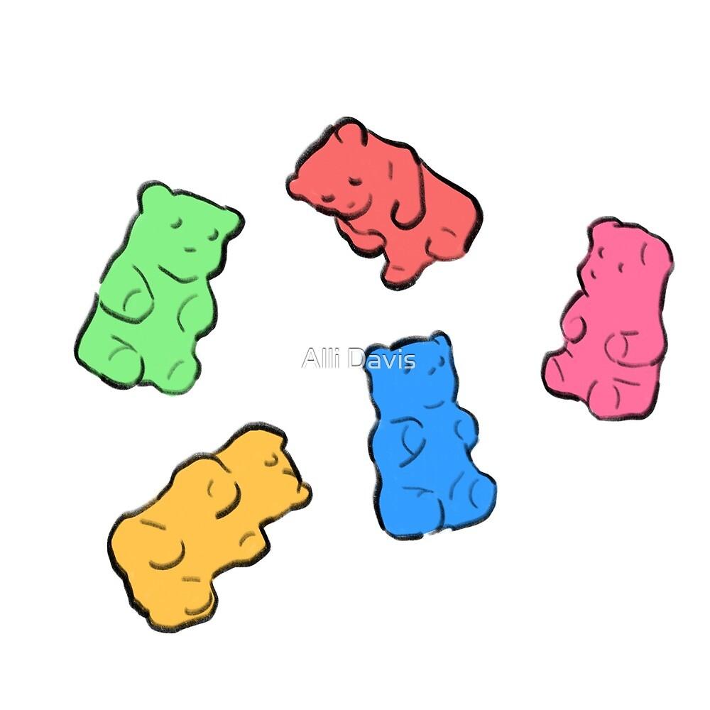Gummy Bears by Alli Davis