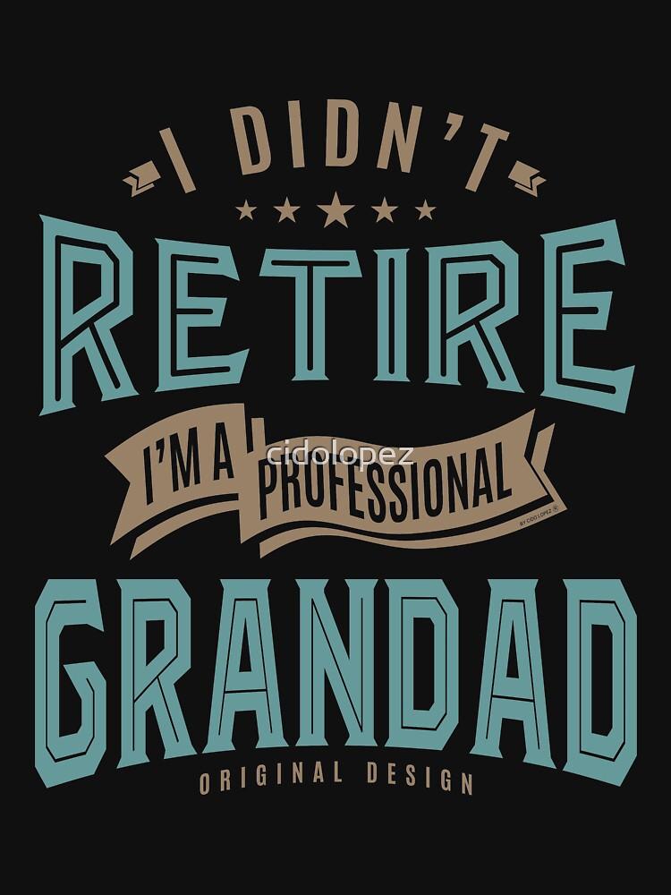 Professional Grandad by cidolopez