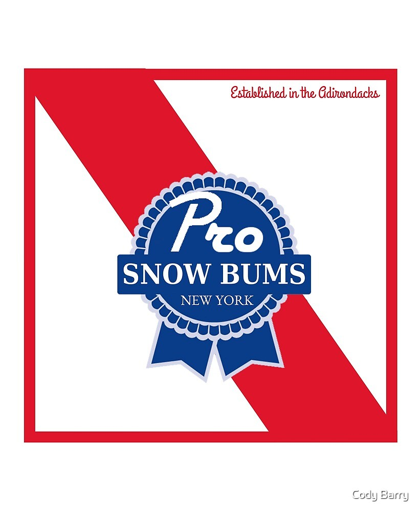 Pro Snow Bums Blue Ribbon by Cody Barry