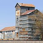 Clayton, New Mexico, Grain Mill by Catherine Sherman