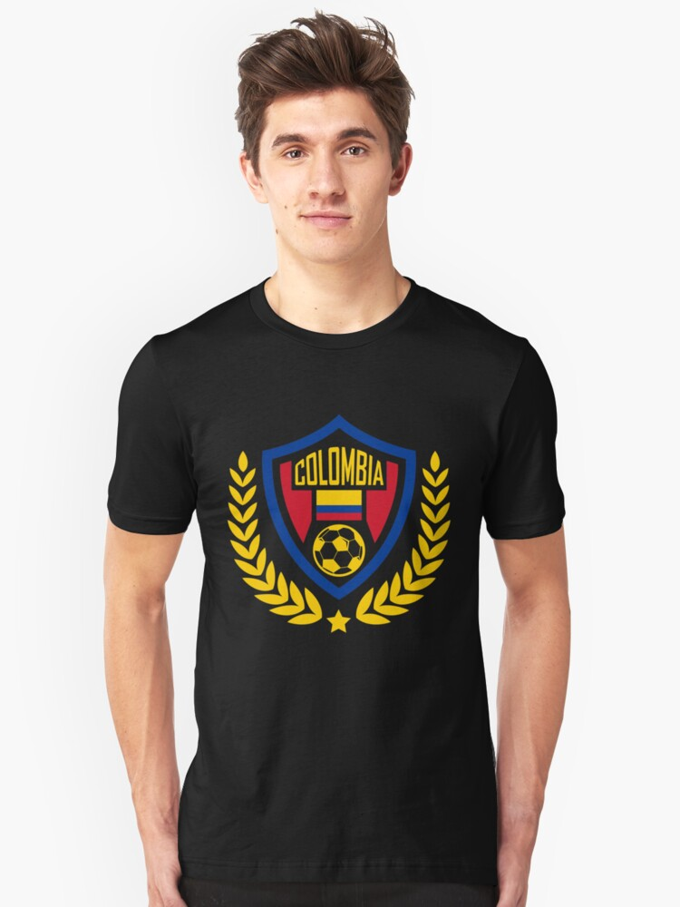 Colombia Flag | Colombia Jersey | World Cup 2018 | soccer player gift | soccer coach gift | team soccer gifts | soccer gifts for him | soccer shirts | soccer gift ideas | futbol | Columbian Unisex T-Shirt Front