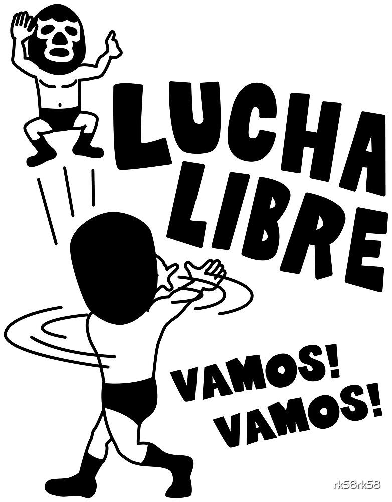 LUCHA LIBRE#29mono by rk58rk58