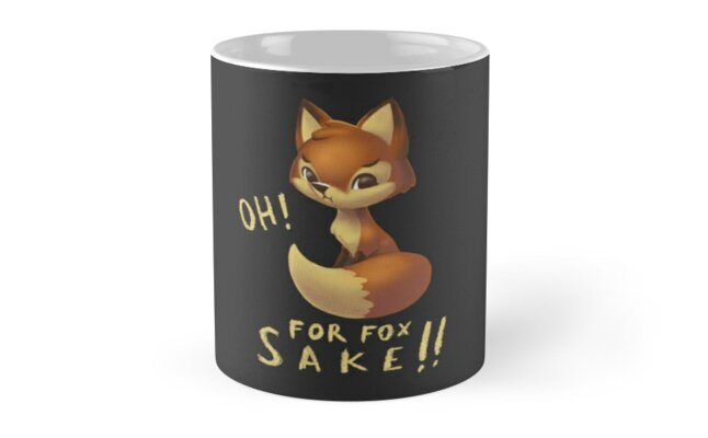 Oh For Fox Sake by heryca29
