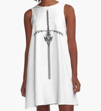 The Great Dragon Sword A-Line Dress