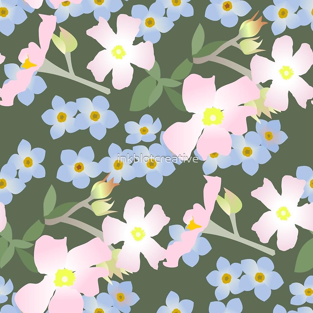 Wild Roses by inkblotcreative