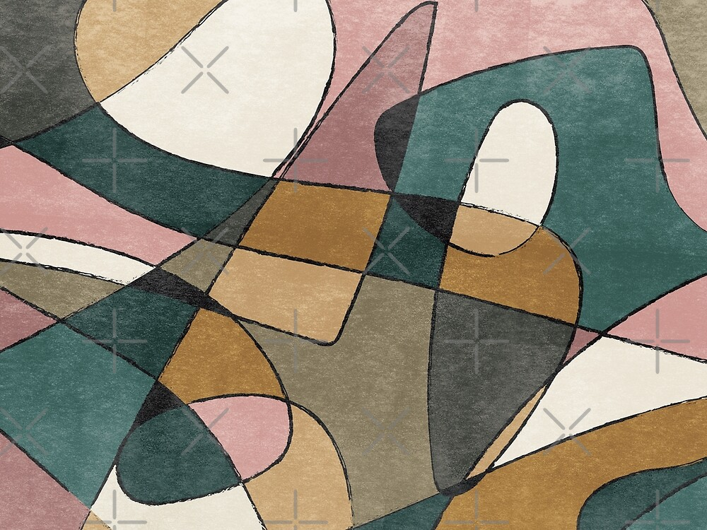 Abstract Vintage Design by TReich03