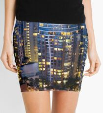 Downtown Robson Vancouver Mini Skirt