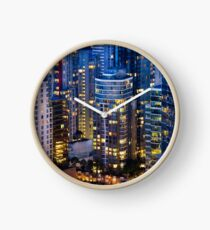 Downtown Robson Vancouver Clock