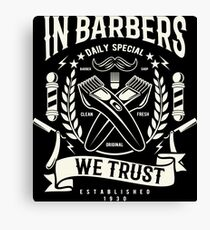 Barbers Canvas Print