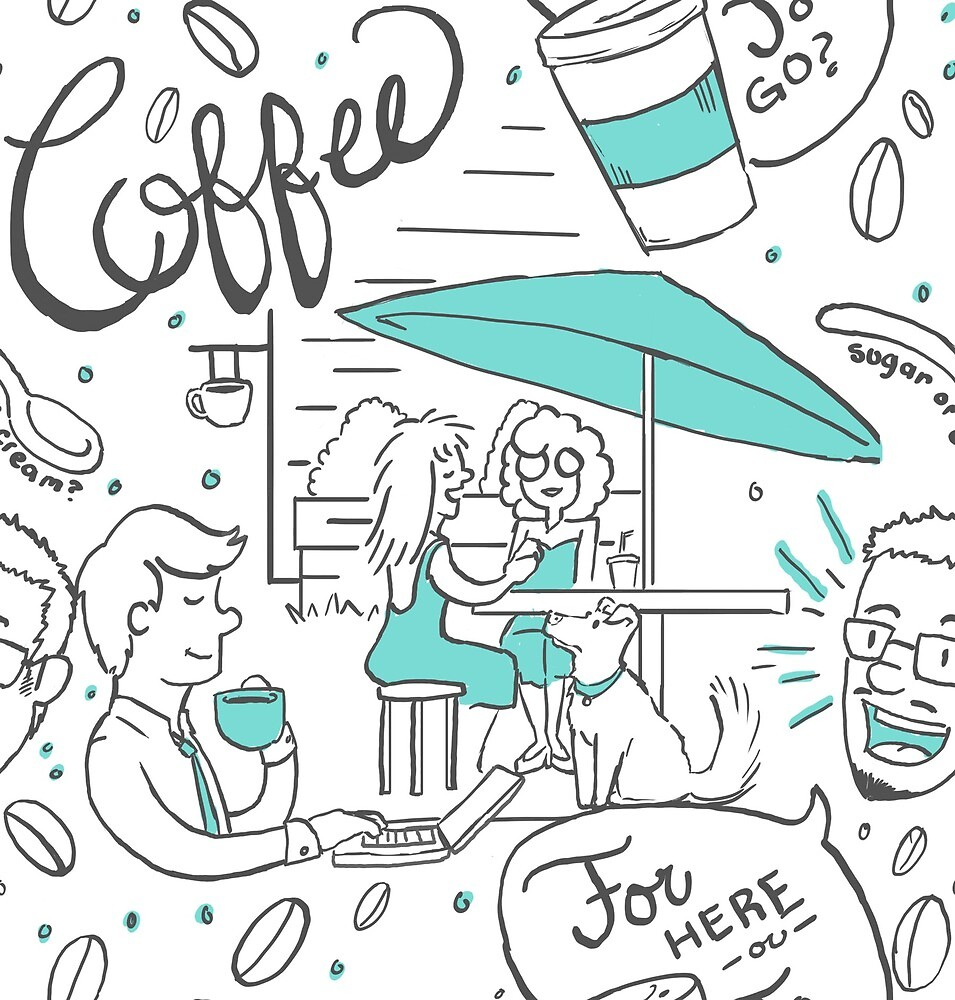 Coffee Time during a Sunny Day by intro-verted
