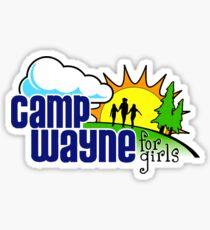 Camp Wayne for Girls Sticker