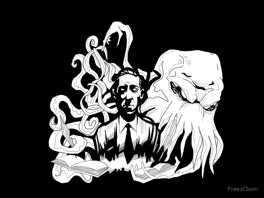 Hp Lovecraft by FreezCburn