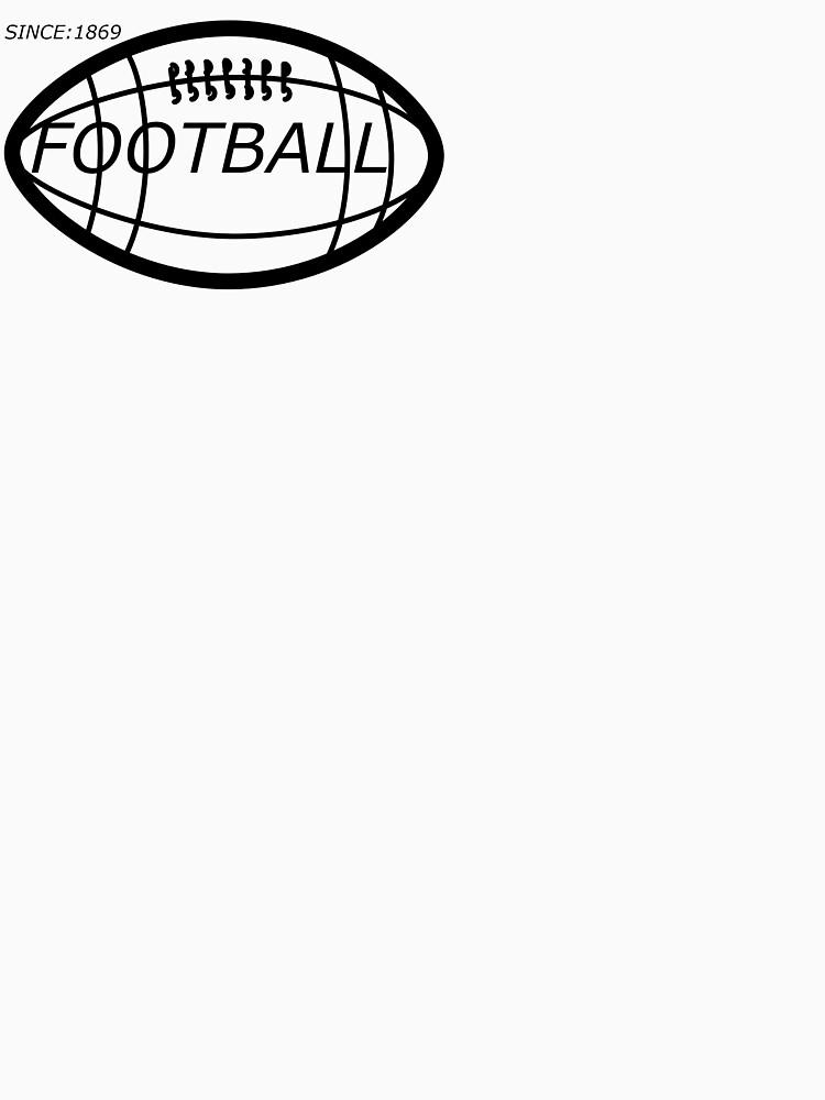 Football t-shirt  by diastore