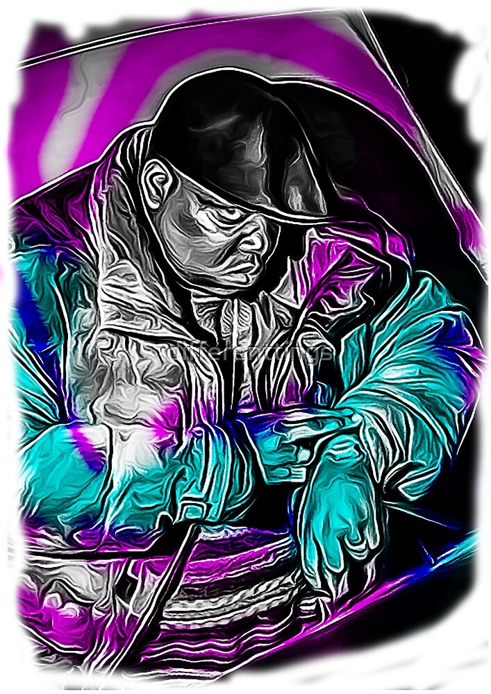 biggie smalls print by differenttings