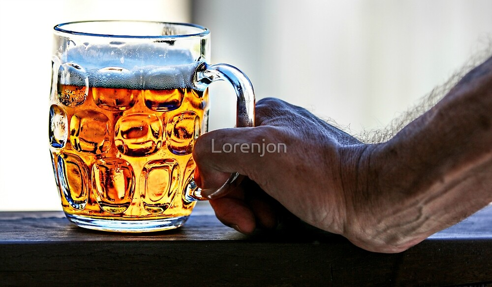 Hot Day - Cold Beer by Loren Jon Photographer