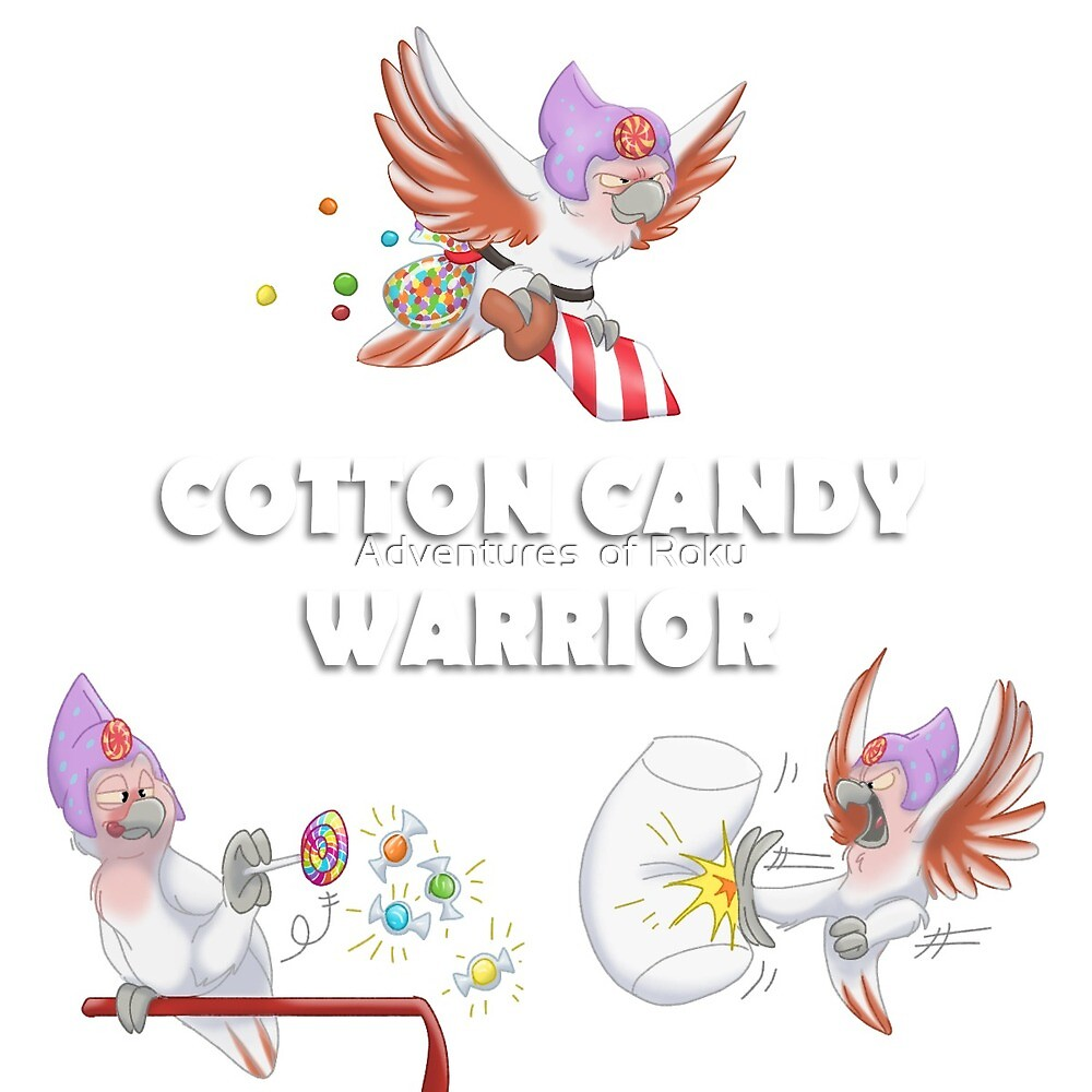 Cotton Candy Warrior by Adventures  of Roku