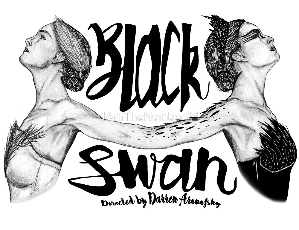 Black Swan Poster Design by IAmTheNumber23