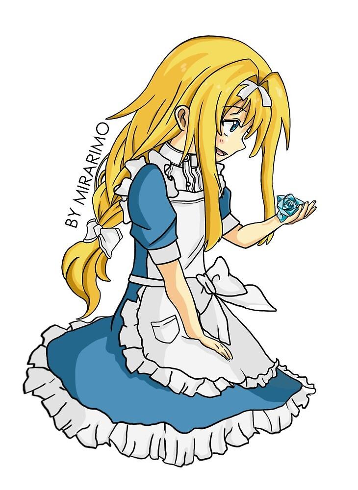 Little Alice Schuberg Sticker by Mirarimo