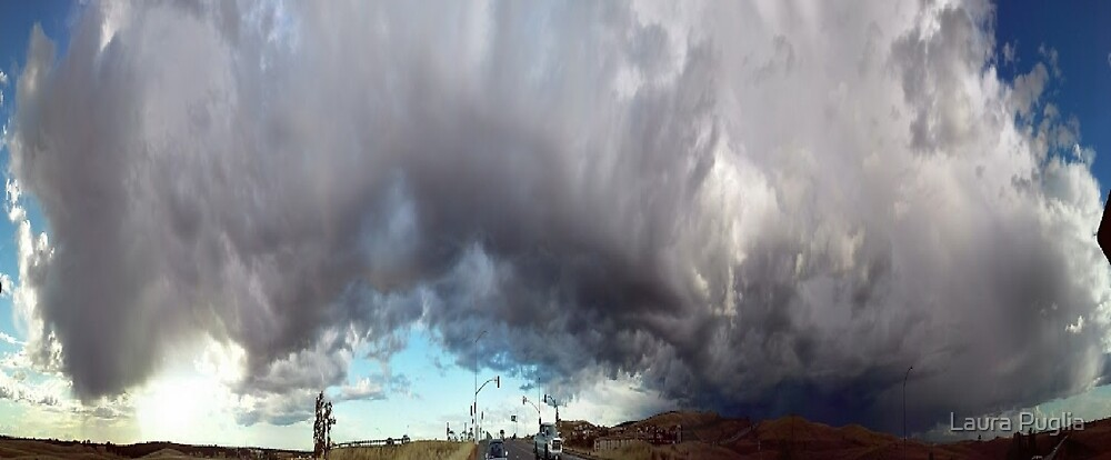 Pano Clouds Distorted by Laura Puglia