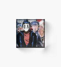 Mimed for Safety Acrylic Block