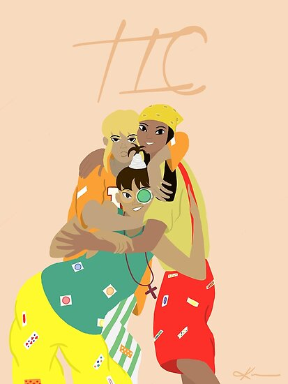 90s TLC Fanart by Kieauna96