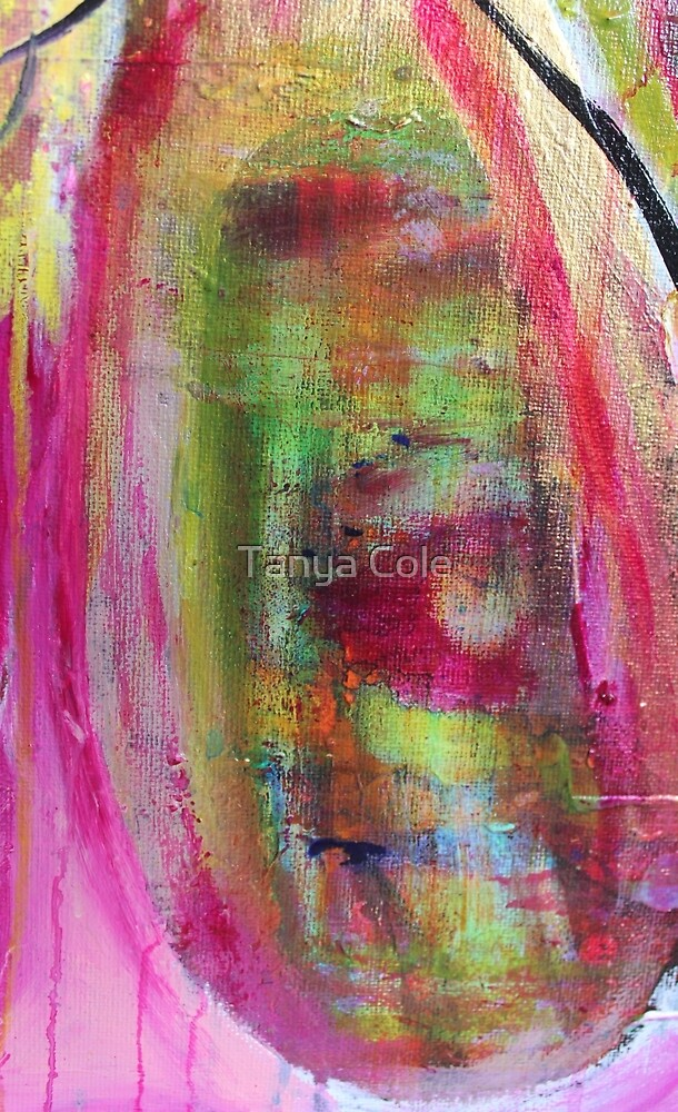 Colour Spray Art Reproduction  by Tanya Cole