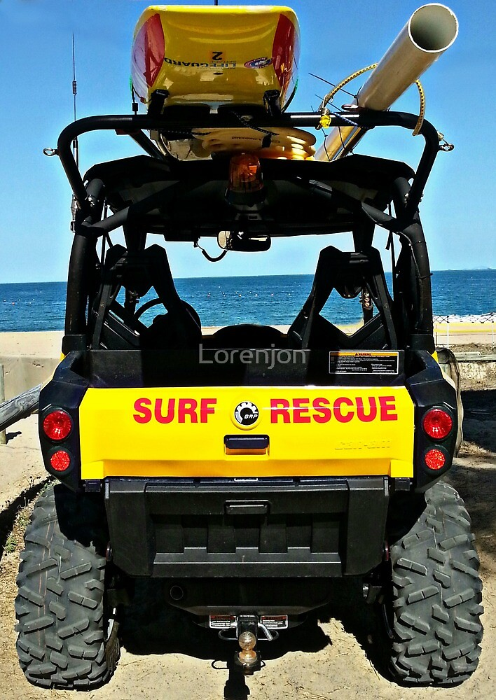 Surf Rescue by Loren Jon Photographer