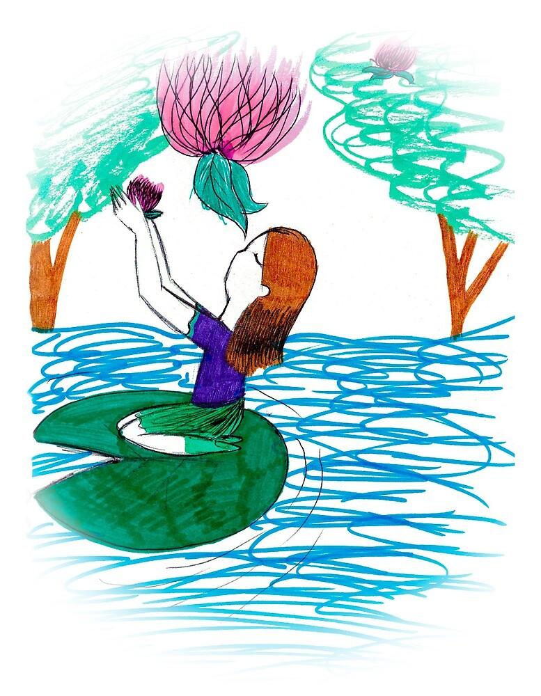 The lotus and friends by ninosoeradinata