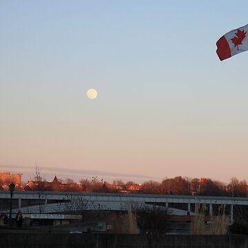 Canadian Full Moon by Newsworthy