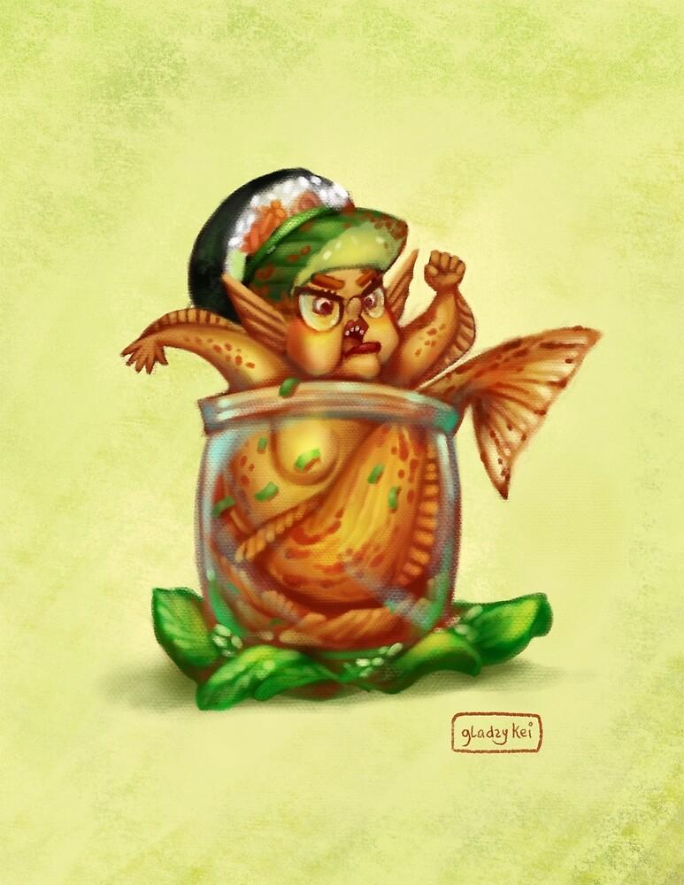 Kimchi Mermaid by gladzykei