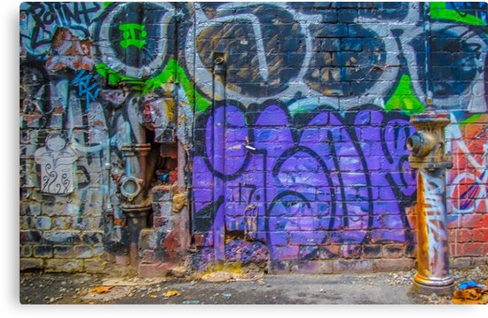 Junked up hydrant  by Djames Photocraft