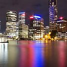 Brisbane CBD from Kangaroo Point 5 by Newsworthy