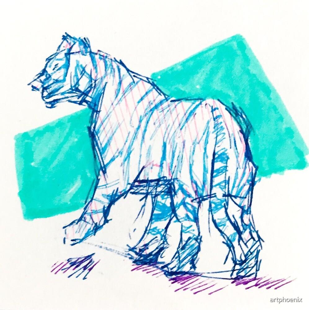Tiger by artphoenix