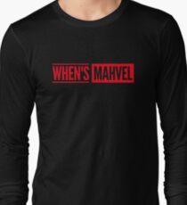 When's Mahvel Long Sleeve T-Shirt