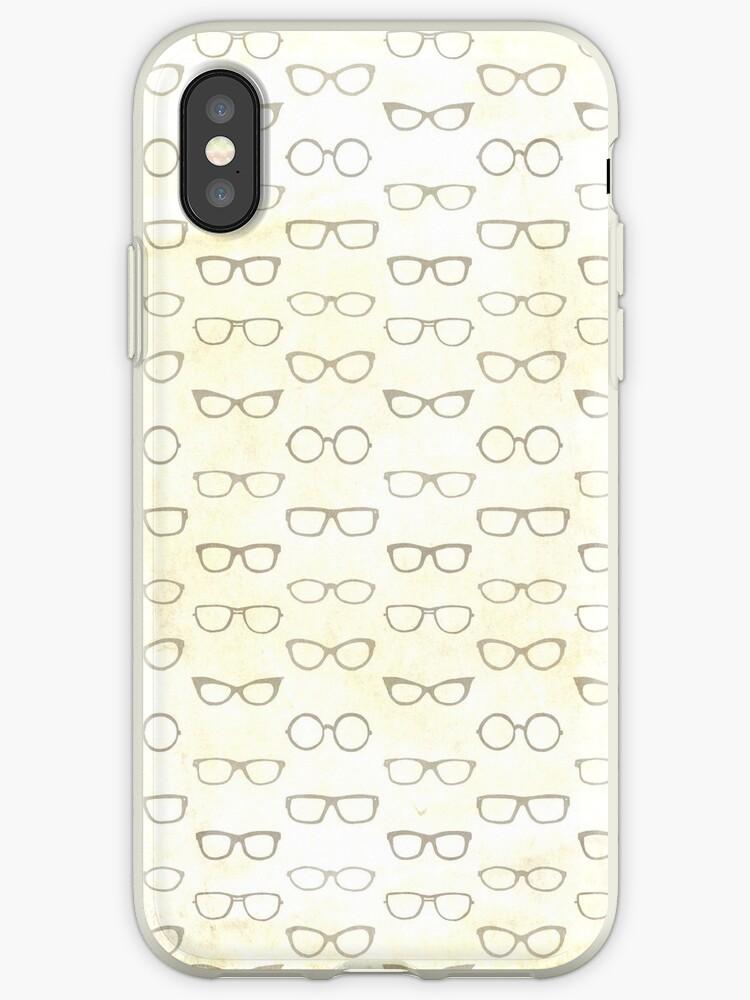 retro eye glasses pattern by leighdarilek