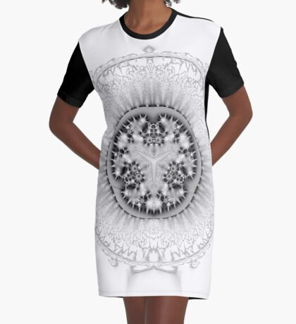 Amoeba 26 Graphic T-Shirt Dress